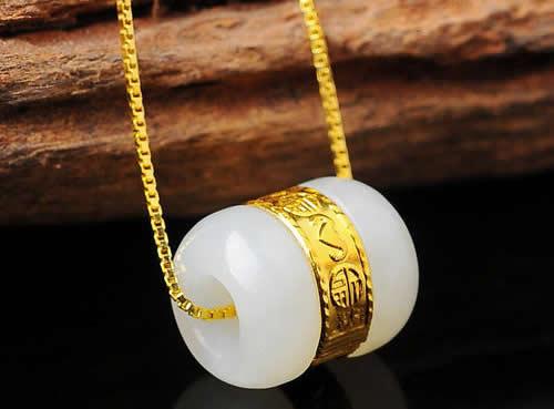 金镶玉,现代工艺与传统玉器的碰撞