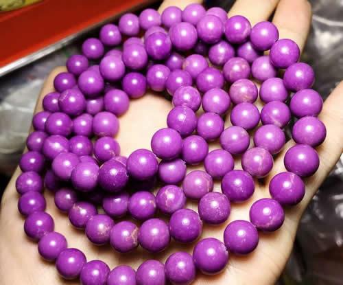 紫云母的功效与作用,佩戴禁忌,真假辨别